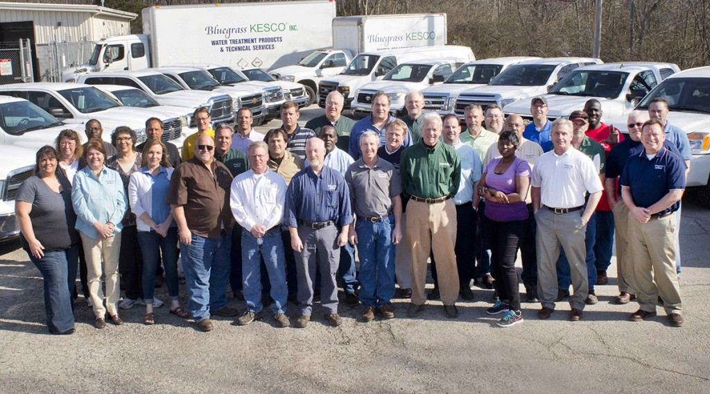 The Bluegrass Kesco Team